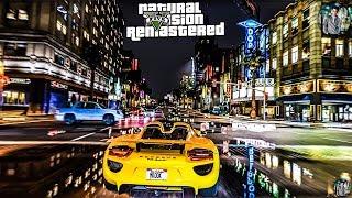 GTA 5 -EVE- Real Life Graphics mod NaturalVision Remastered - Gameplay GTX 1060