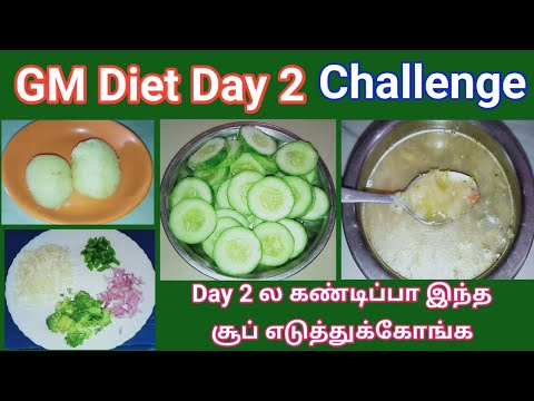 GM Diet Day 2 in tamil / 7 – 8 kgs weight loss in a week /weight loss challenge /Weight loss Journey