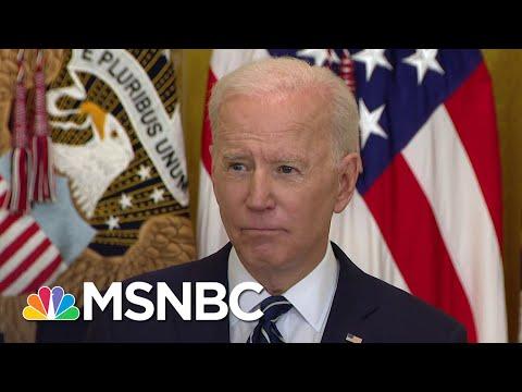 Biden: U.S. Will 'Respond Accordingly' If North Korea Continues To Escalate Tension   MSNBC
