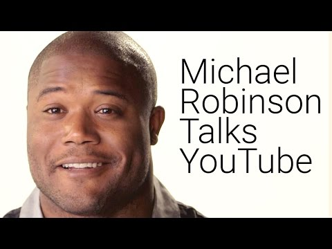 Michael Robinson, Seattle Seahawks, Talks YouTube