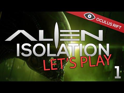 Alien Isolation - Oculus Rift DK2 Gameplay (Part 1)