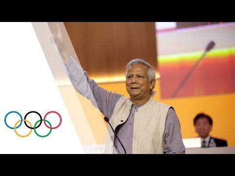 129th IOC Session - Keynote speech by Professor Muhammad Yunus