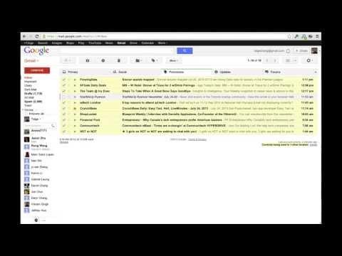 Gmail - delete all unread emails