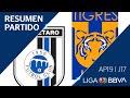 Resumen | Querétaro Vs Tigres UANL | Jornada 17 - Apertura 2019 | Liga BBVA MX