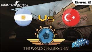 CS:GO World Championship 2016 - Argentina Vs Turkey [Game 2] (Final)