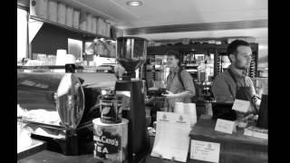 Dowtown Abby visits Bluestone Lane Coffee