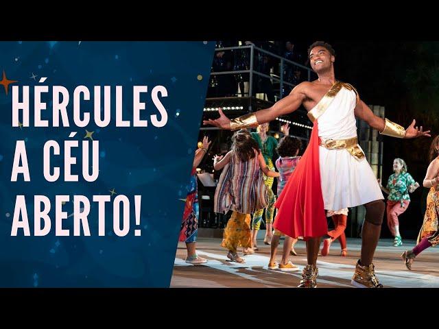 MUSICAL DO HÉRCULES é diferente de TODOS os da DISNEY! 🦸♂🎭