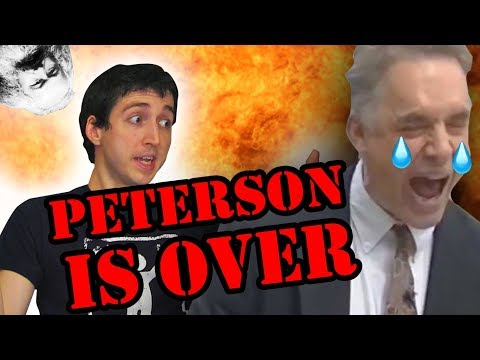 Radical Leftist DEBUNKS Jordan Petersons Stupid Face