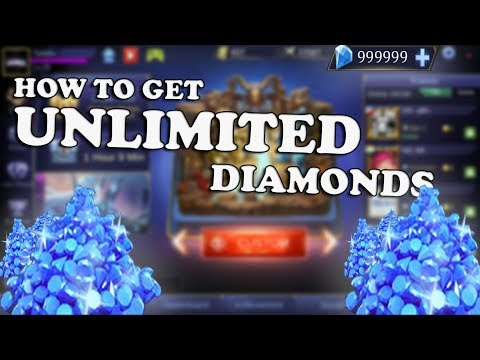 Mobile Legends: Free way to get UNLIMITED diamonds (No hack, no root) IOS AND ANDROID!