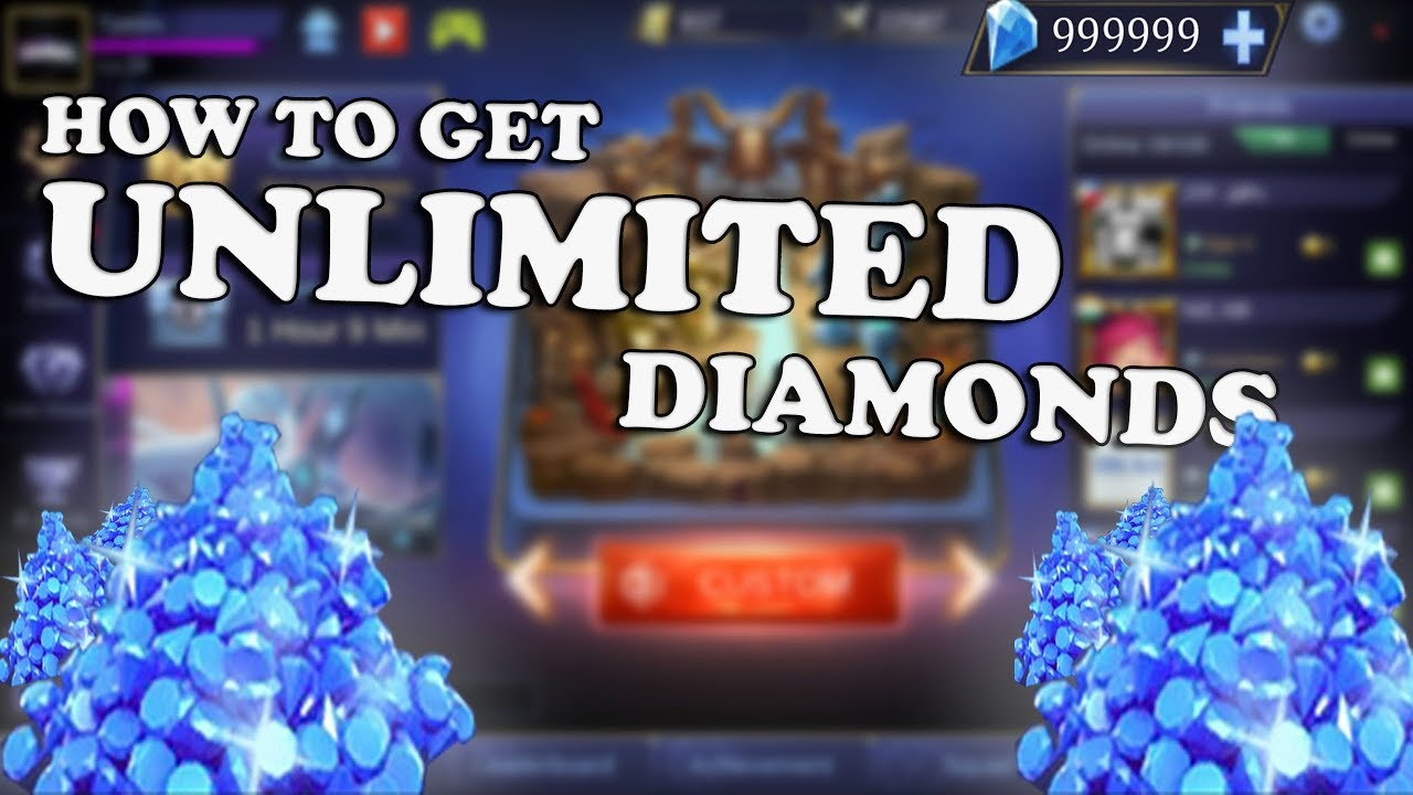 Mobile Legends Free Way To Get Unlimited Diamonds No Hack No Root