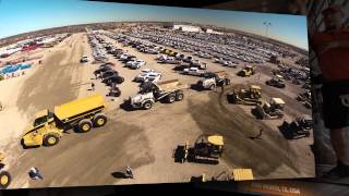 Aerial drone video - equipment auction in Fort Worth, Texas - Ritchie Bros. Auctioneers