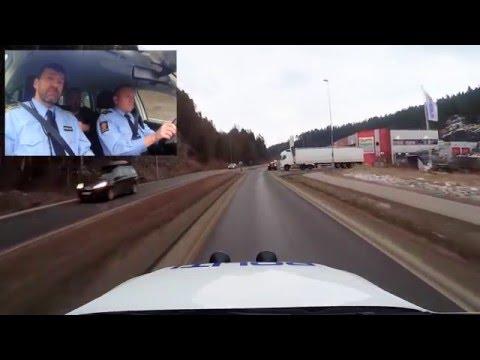 Bli med politiet på utrykning i Grenland