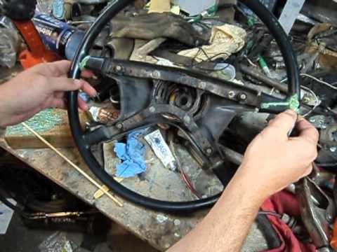 VW Karmann Ghia - Steering Wheel Repair - Part 2