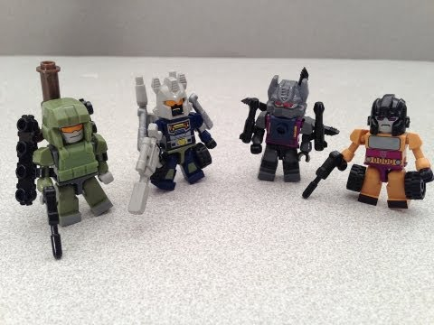 KRE-O MICROCHANGERS COMBINERS BRUTICUS TOY REVIEW