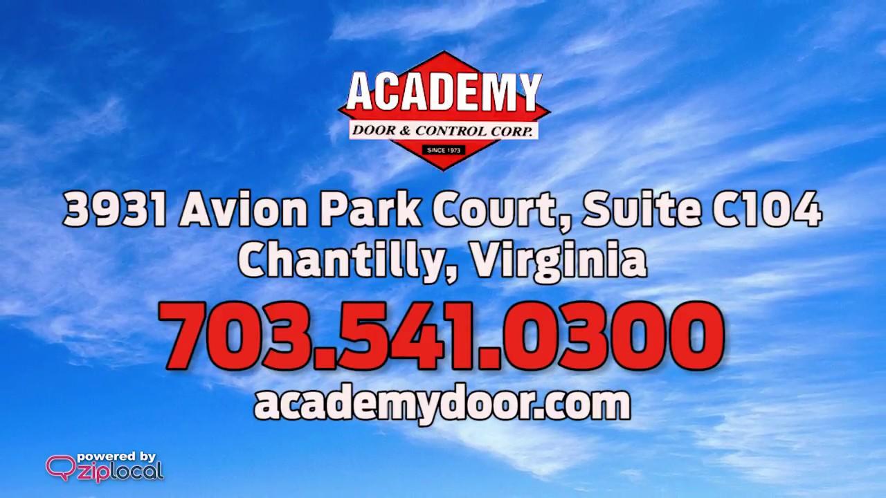 Academy Door u0026 Control Corp - (703) 541-0300  sc 1 st  YouTube & Academy Door u0026 Control Corp - (703) 541-0300 - YouTube pezcame.com