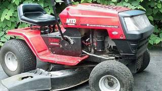( HOW TO ADJUST VALVES) FIX HARD TO START Lawn Tractor with OHV Briggs Engine- MUST SEE- Part 1/2