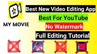My Movie 2020 Best new video editing app   best for YouTube    full Editing Tutorial screenshot 2