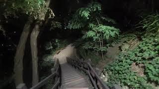 소니 액션캠 계단 테스트 야간