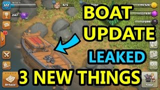 Clash of clans Boat Update Reality and Expectations | Other Side of Sea !!