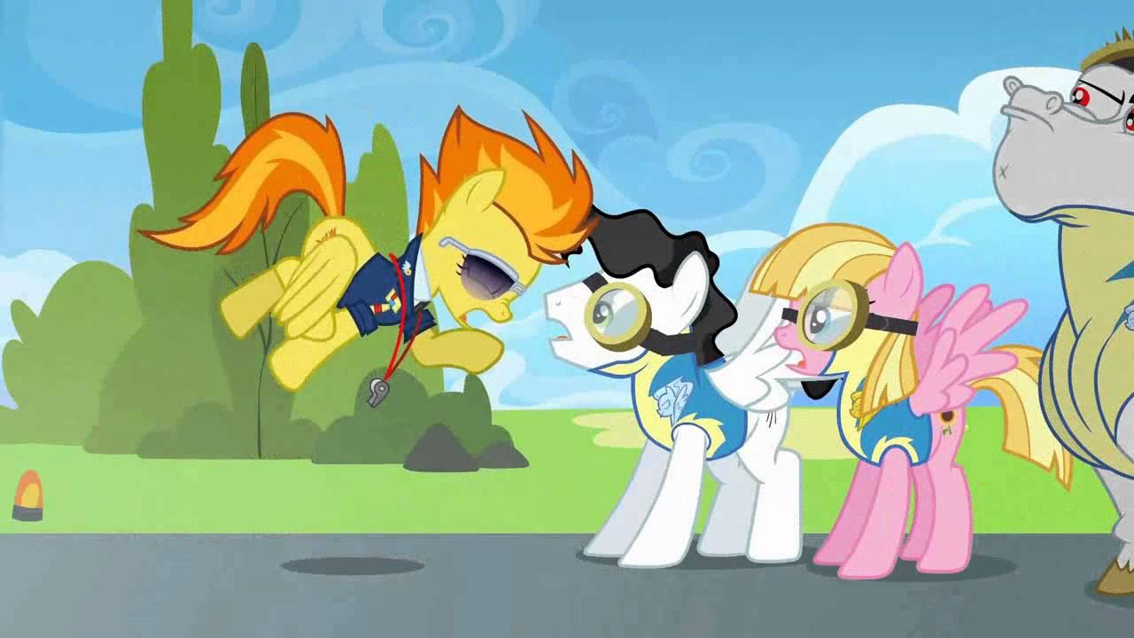 My Little Pony Wonderbolt Academy scene Fan scoring - YouTube  My Little Pony ...