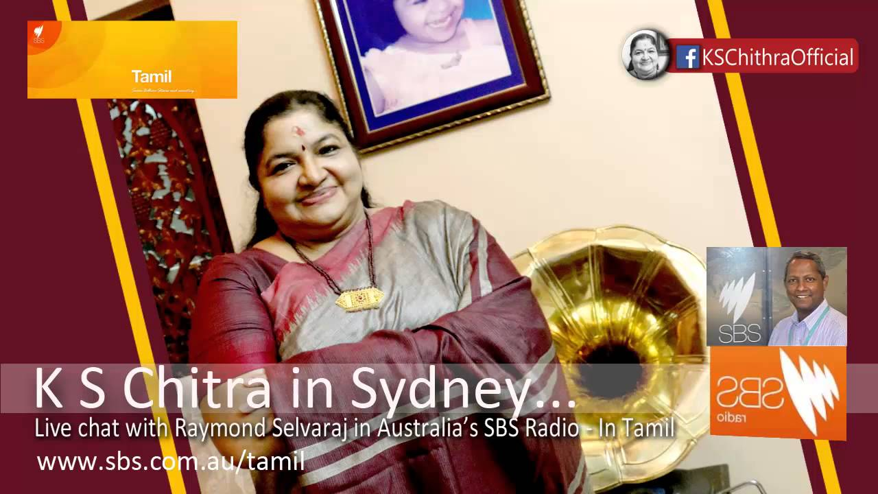 K S Chitra In Sydney .. Live Chat With Raymond Selvaraj In