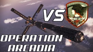 Razgriz vs SOLG - Operation Arcadia in Ace Combat Infinity