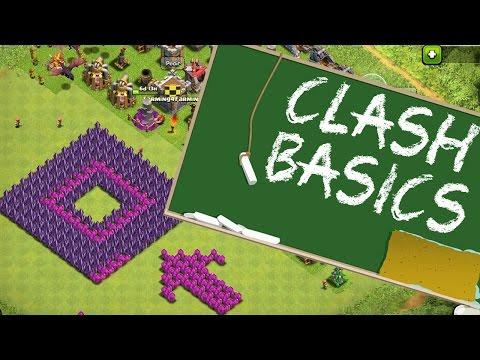 Clash Basics - Die perfekte Base || Clash of Clans - Tipps & Tricks [Deutsch/German HD]