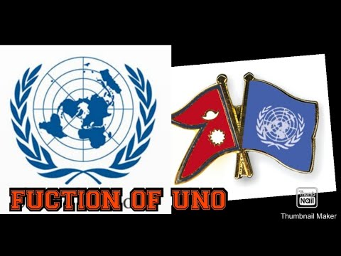 United Nations and its organ -and importance