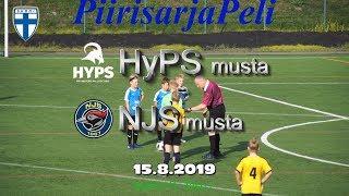 15.8.2019 HyPS Musta vs NJS Musta