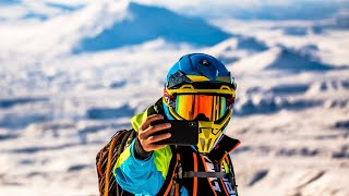 Dangerous Kamchatka on Snowmobiles. How to save yourself from an Avalanche?
