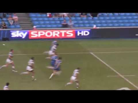 David Hodgson scores winning Magic Weekend try over Hull FC in 2012