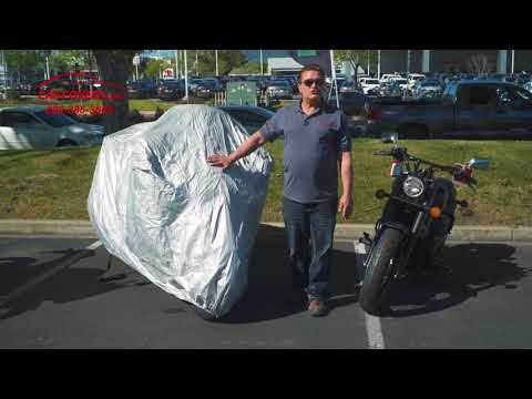 CarCovers.com - Platinum Shield Motorcycle Cover - Outdoor Cover - Lifetime Warranty