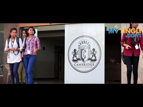 (OFFICIAL) Cambridge Institute of Technology Bangalore | CITech on My Tingli | MYTingli