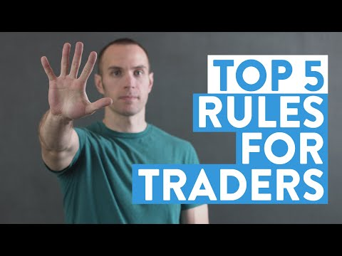 The Top 5 Rules for Traders (Stock Market for Beginners)