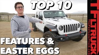 These Are The Top Ten Hidden Things Most People Don't See on the 2020 Jeep Gladiator!