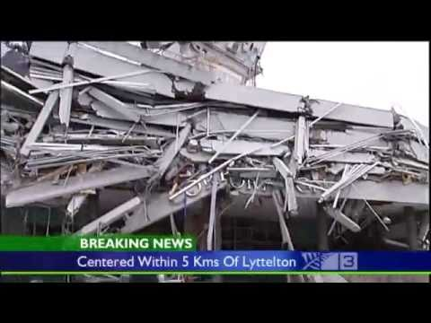 Christchurch Earthquake Video - 22nd February 2011