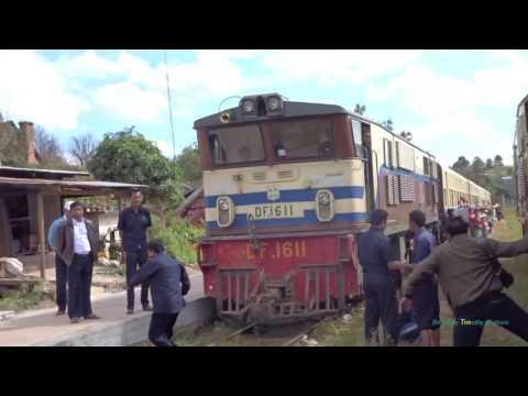 နှေးနှေးရထား Through the Mountains of Myanmar (Burma) by Slow Train - Kalaw - Inle Lake