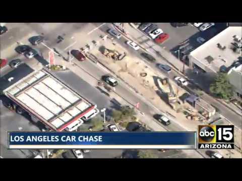 7/22/16: LA Car Chase Part 1 & Part 2