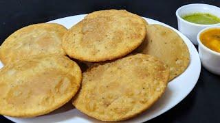 आगरा मथुरा की प्रसिद्ध हलवाई स्टाइल की बेड़मी पुरी बनाने का सही तरीका   Bedmi Puri Recipe.