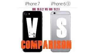 iOS 11.2.1 VS iOS 10.3.2 - iPhone 7 VS iPhone 6S (Who is Faster?) Shocking!!! #ios 11 VS #ios 10