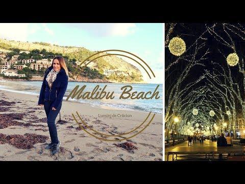 Malibu Beach în Mallorca | Lumini de Crăciun