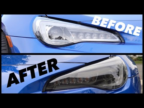 Evo X Headlight Blackout How To Doovi