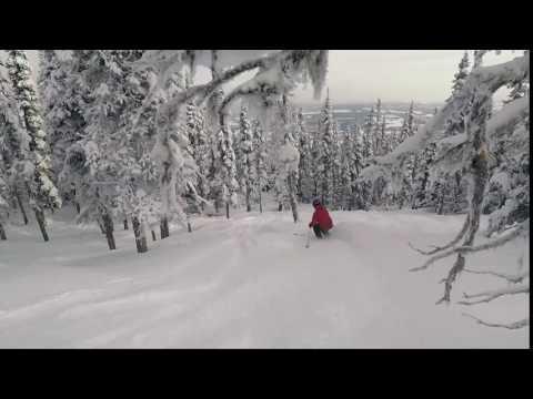 #SkiNorthBC Hudson Bay Mountain Follow Cam