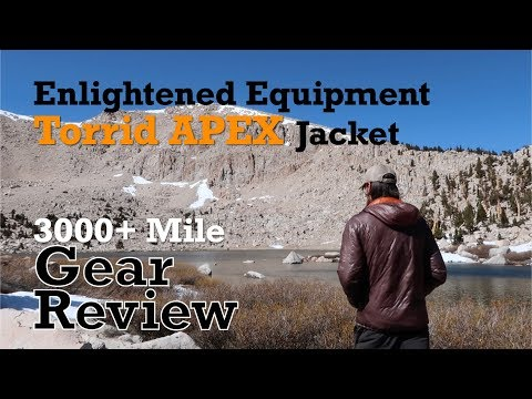 EE Torrid APEX Jacket 3,000+ Mile Review