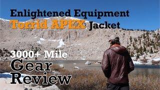 EE Torrid APEX Jacket 3,000+ Mile Review