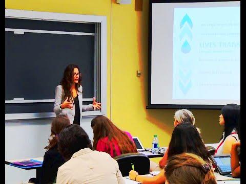 "Social Entrepreneurship ""Scaling innovative solutions to the global water crisis"" Chevenee Reavis"