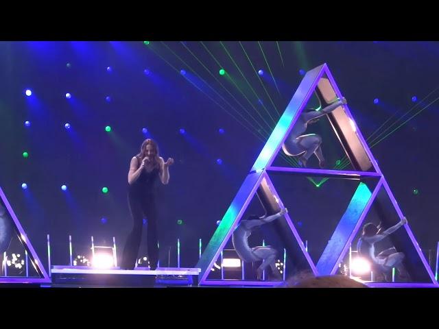 Mel C - I turn to you (30 second clip from #UMK18 dress rehearsal)