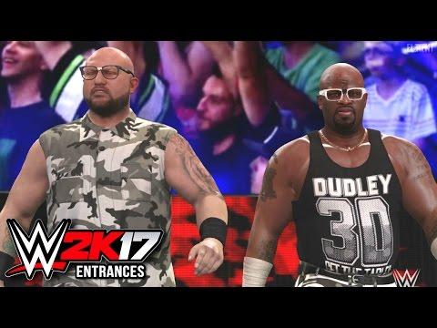 WWE 2K17 Entrances - Dudley Boyz, Dash & Dawson (Revival) & Stephanie Mcmahon thumbnail