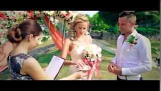 Свадебная фотосессия торжественной церемонии за границей- лучший подарок молодым!