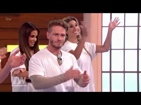Matthew Wolfenden and Mark Foster Teach the Loose Women How to Strip   Loose Women